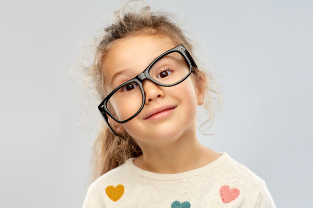 Donate glasses that no longer fit!